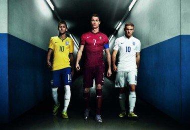 Neymar Piqué y Ronaldo juntos en video de Nike para Brasil 2014