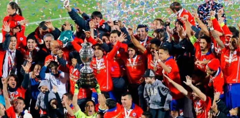 Chile es el campeón de la Copa América 2015